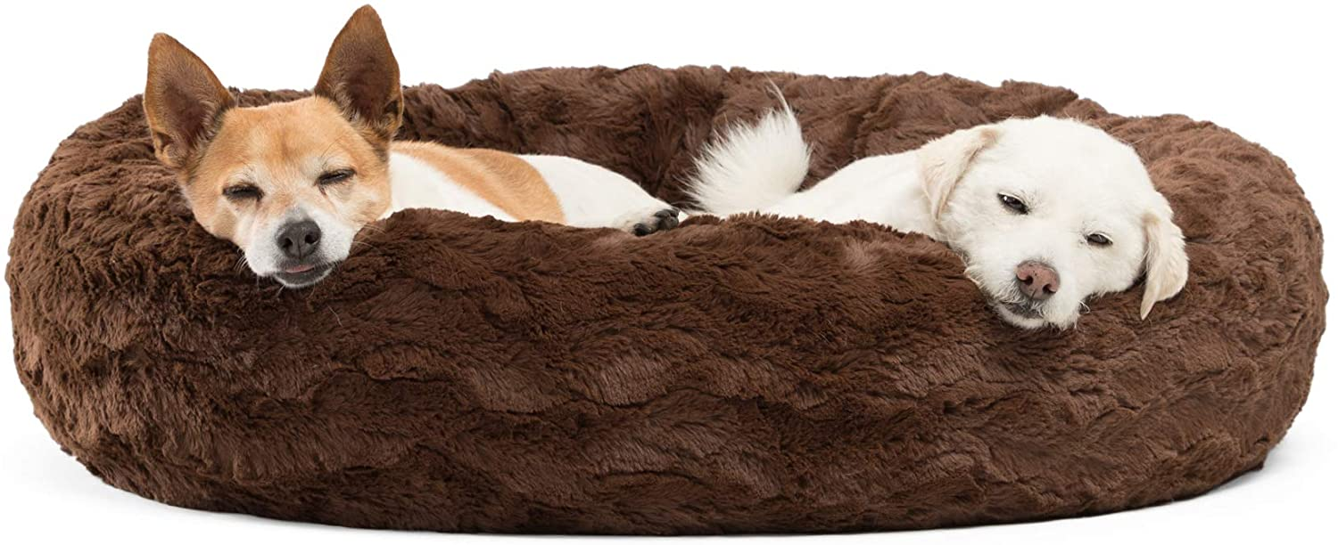 Best Friends by Sheri – Luxury Faux Fur Donut Cuddler