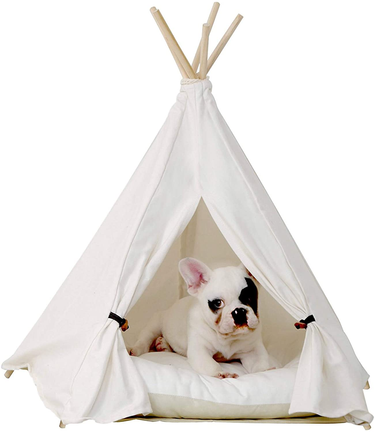 little dove Pet Teepee Dog Bed